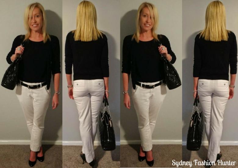 Sydney Fashion Hunter: The Wednesday Pants #1 - Monochrome Mood