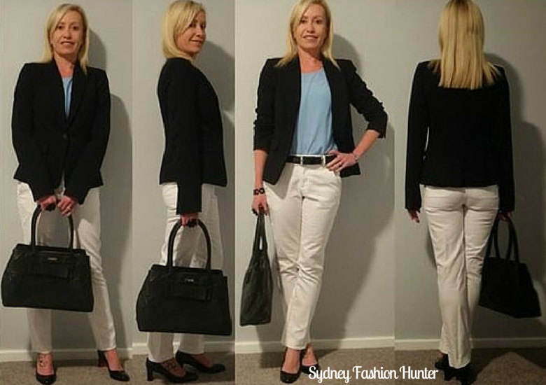 Sydney Fashion Hunter: The Wednesday Pants 32 - Loubis & Light Blue