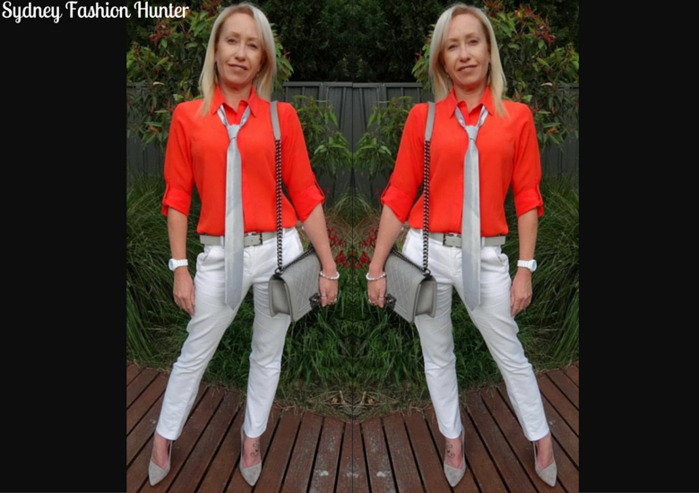 Sydney Fashion Hunter: The Wednesday Pants #5 - Borrowing From Hubby