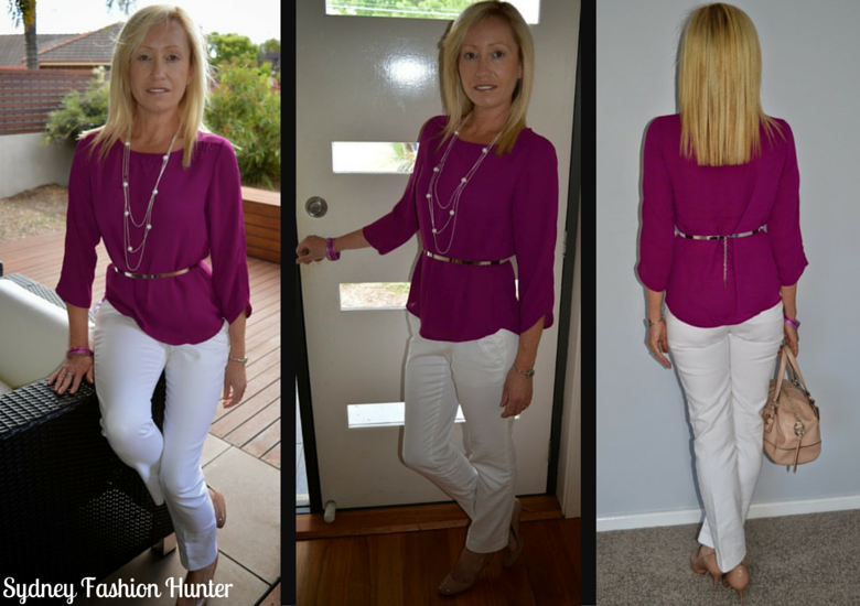 Sydney Fashion HUnter: The Wednesday Pants #11 - Pretty In Pink