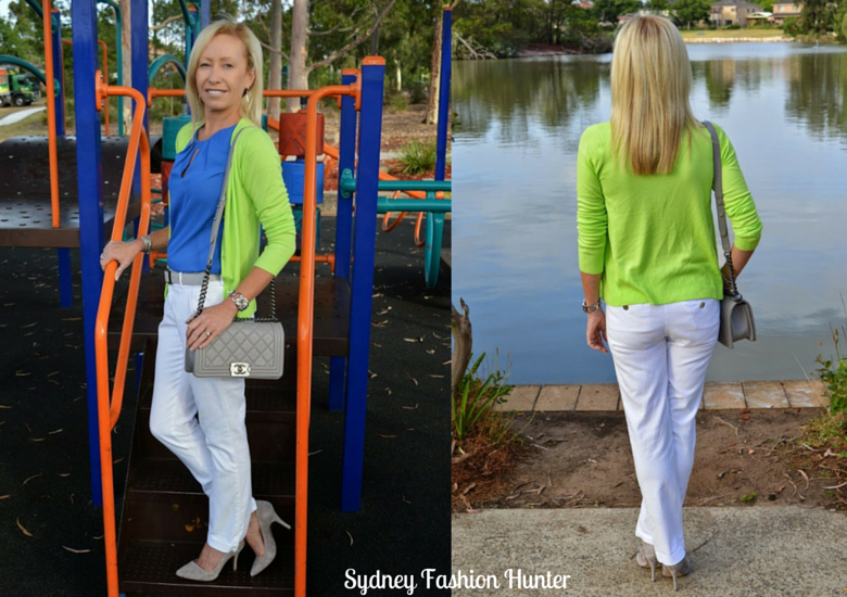 Sydney Fashion Hunter: The Wednesday Pants #12 - Blue & Green