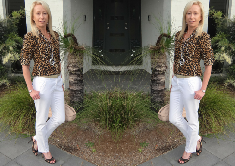 Sydney Fashion Hunter The Wedesday Panst #9 - Leopard Print