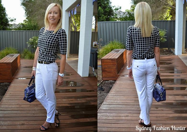 Sydney Fashion Hunter: The Wednesday Pants #31 - Window Pane