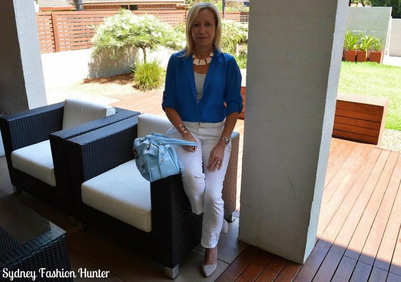 Sydney Fashion Hunter: The Wednesday Pants #23 - Feeling Blue