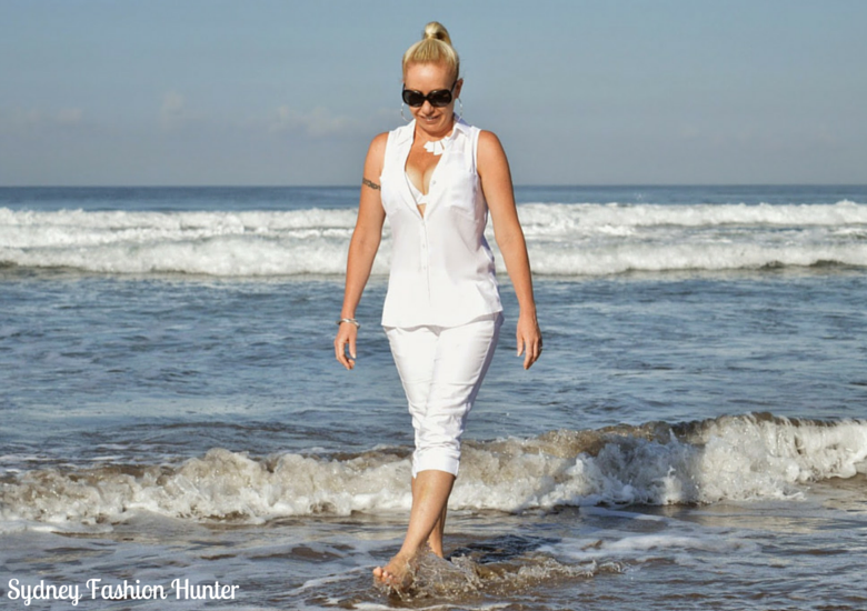 Sydney Fashion Hunter The Wednesday Pants Barefoot On The Beach Bali