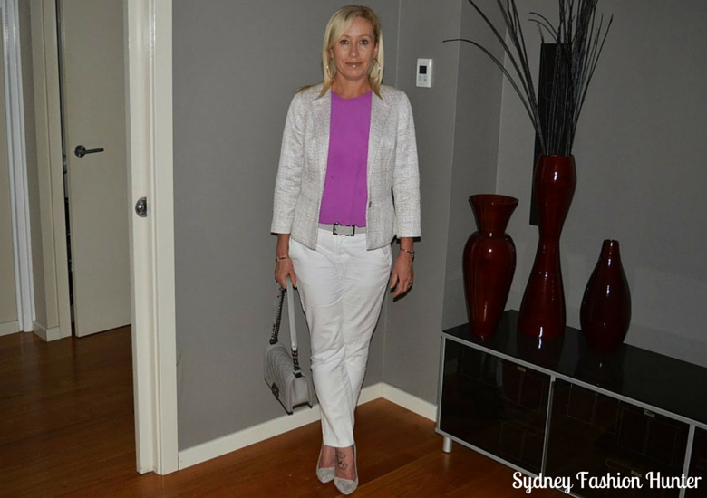 Sydney Fashion HUnter: The Wednesday Pants #26 - Tweed & Chanel