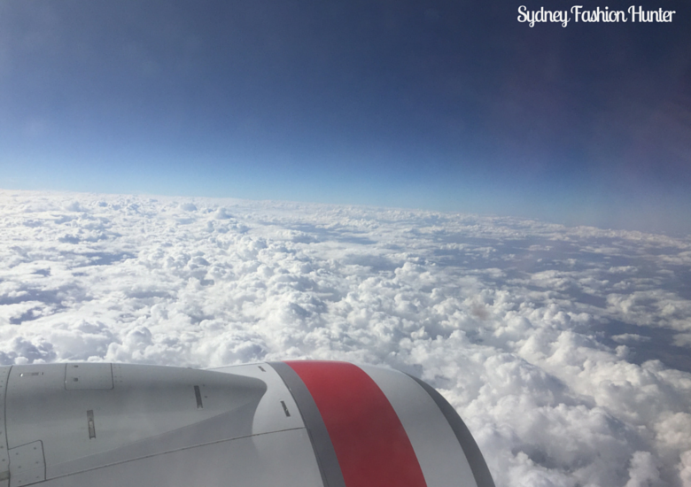 Sydney Fashion Hunter: Visiting Bali - Plane WIndow