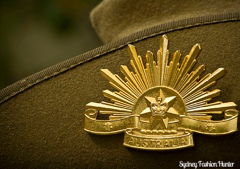 Sydney Fashion Hunter Anzac Traditions