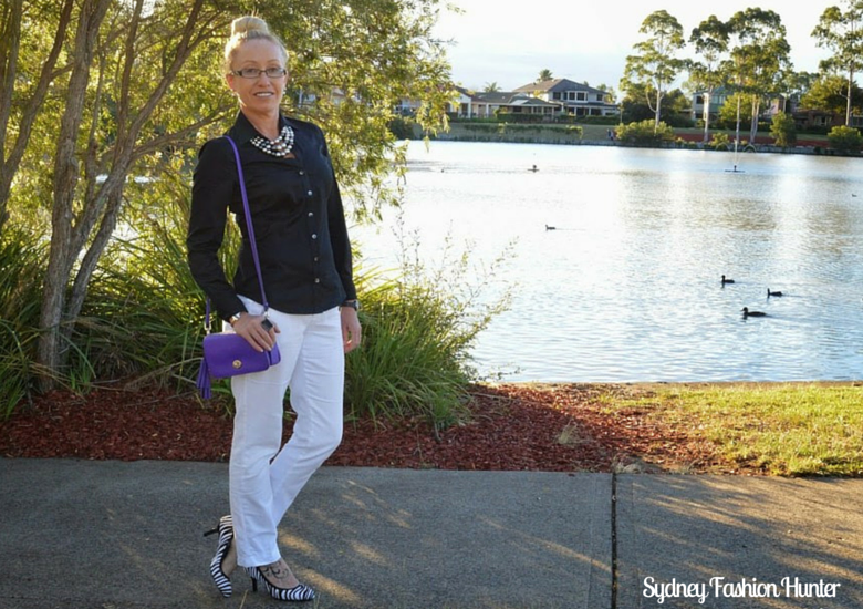 Sydney Fashion Hunter: The Wednesday Pants #29 - Black Pearls