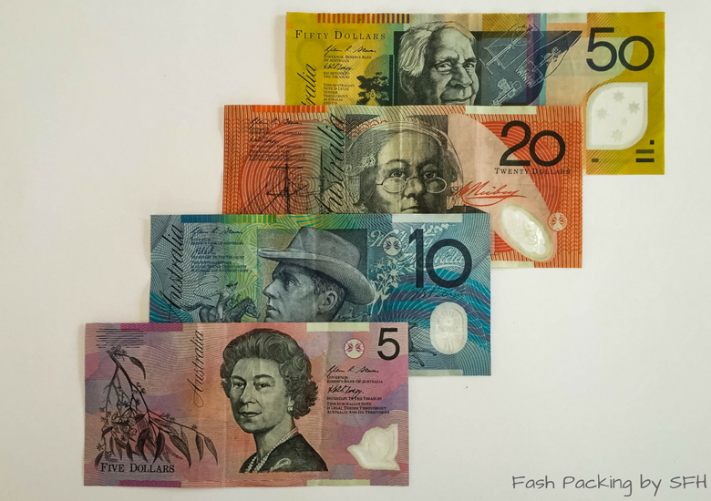Fash Packing by Sydney Fashion Hunter: SydneFash Packing by Sydney Fashion Hunter: Sydney Like A Local - Australian Currency