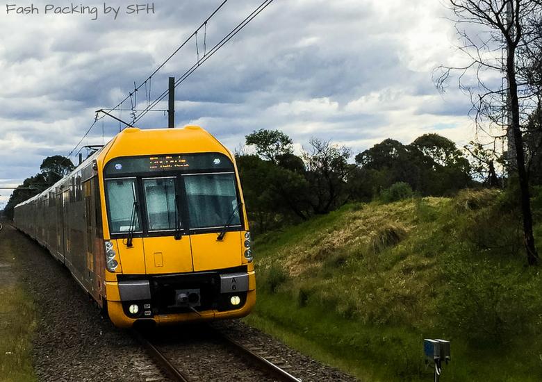 Fash Packing by Sydney Fashion Hunter: Sydney Like A Local - Sydney Train