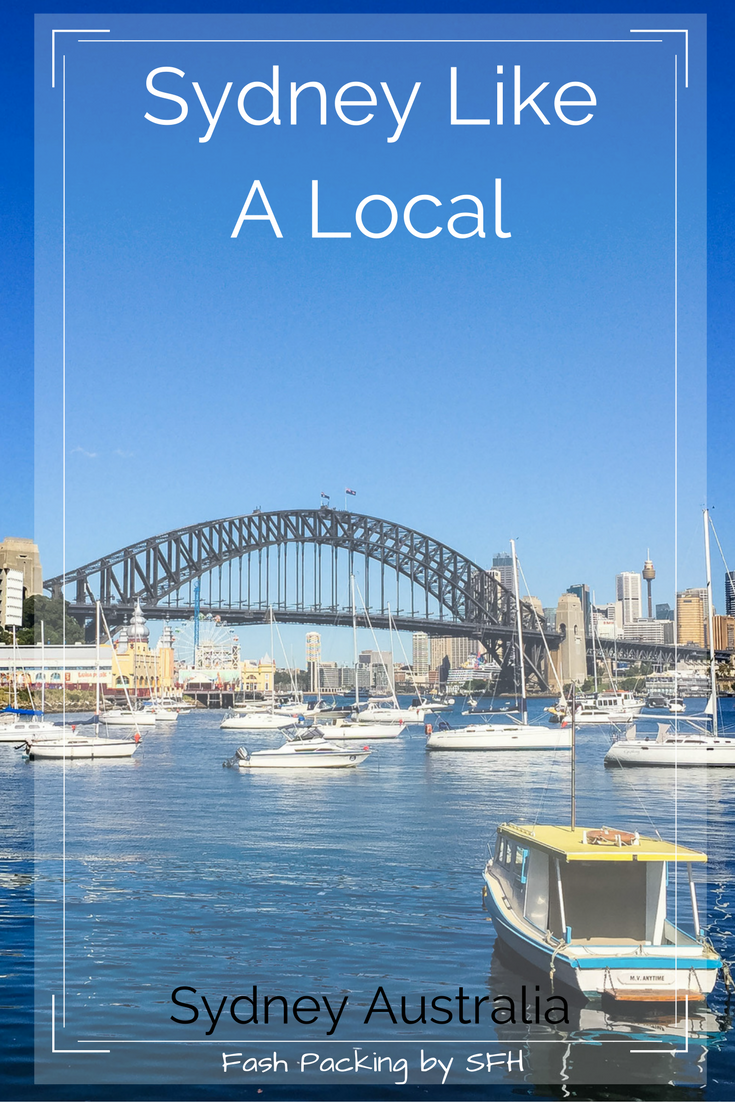 Visiting Sydney? Want to see more tha the usual 'tourist experience'? I'm Sydney born and vred and sharing all my scerets to my fabulous hometown here http://bit.ly/SFH-Sydney