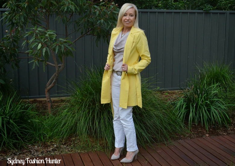 Sydney Fashion Hunter: The Wednesday Pants #34 - Mellow Yellow
