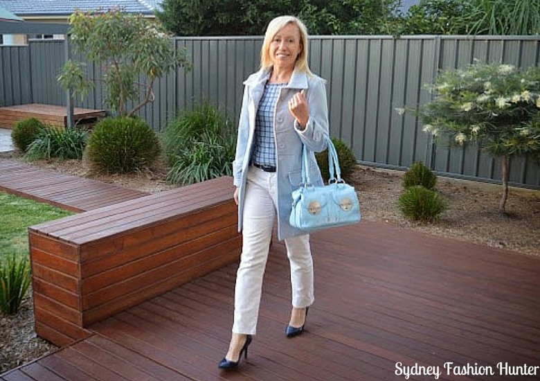 Sydney Fashion Hunter: The Wednesday Pants #36 - Baby Blue