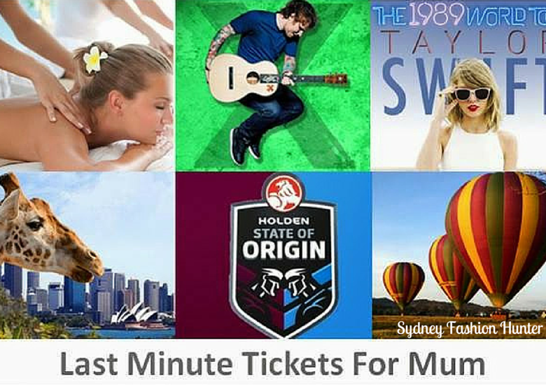 Sydney Fashion Hunter: Last Minute Tix For Mum