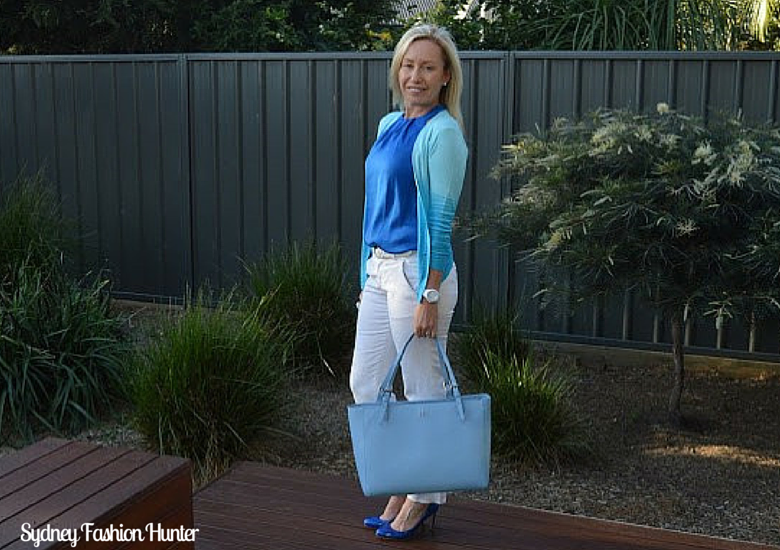 Sydney Fashion Hunter: The Wednesday Panst #47 - Azure Ombre