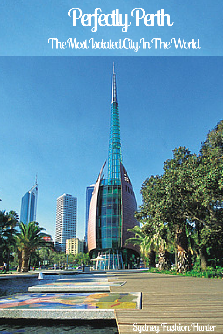 Perth Australia is the most isolated city on planet Earth but it still has a lot to offer. Check out the highlights here http://bit.ly/1RbXlhL