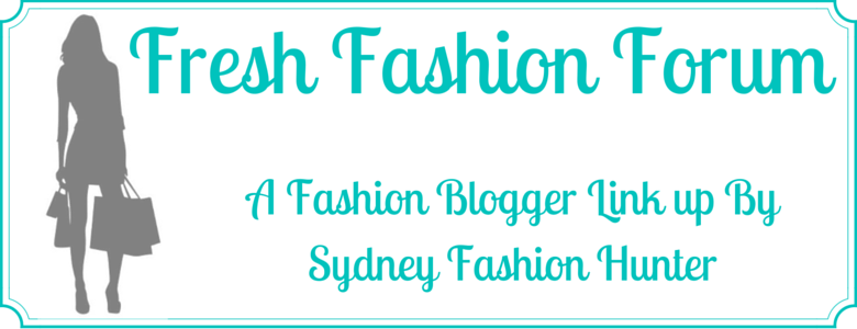 Sydney Fashion Hunter Fresh Fashion Forum Fashion Blogger Link Up Banner