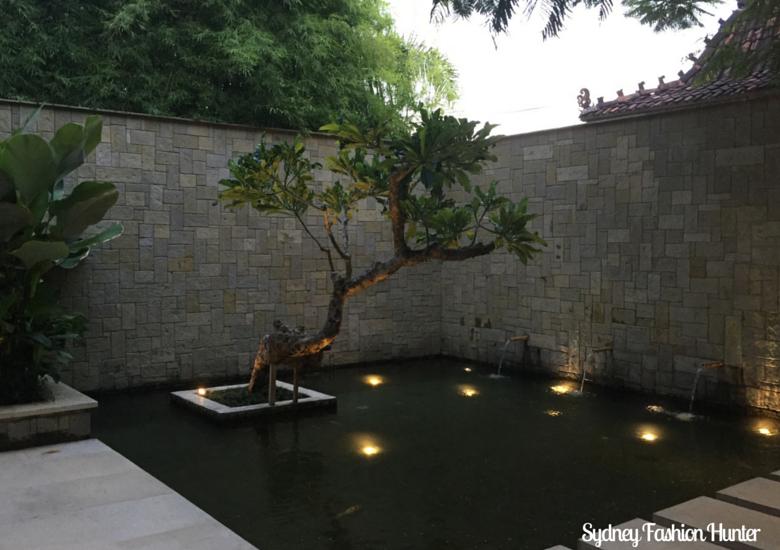 Bali Style: Fish pond at Bambu Seminyak