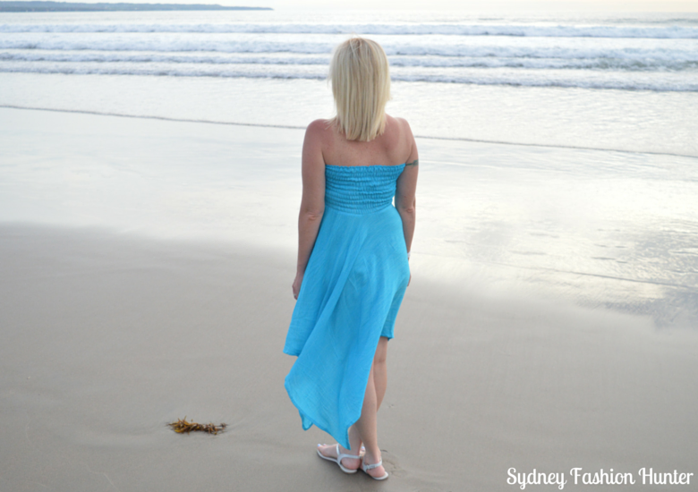 Sydney Fashion Hunter #OOTDBlue Sundress In Bali