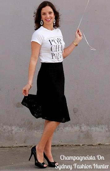 Sydney Fashion Hunter Fresh Fashion Forum Featured Blogger Champagneista