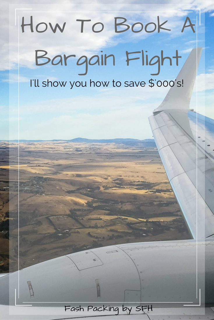 Want to save $'ooo's on the next flight you book? All my secrets on booking a bargain flights are right here http://bit.ly/BargainAirfares