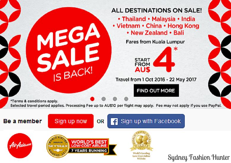 Air Asia Mega Sale