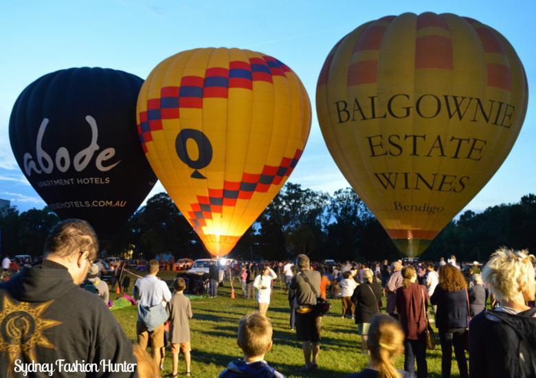Sydney Fashion Hunter Canberra Balloon Spectacular - Crowd
