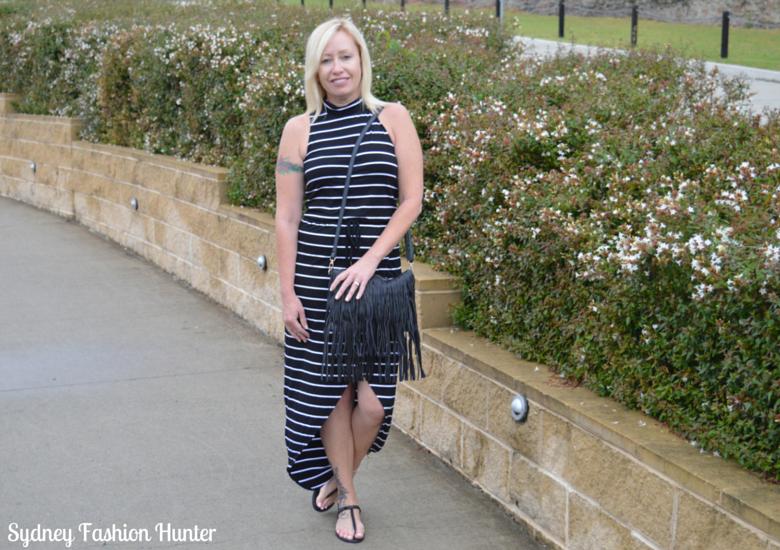 Sydney Fashion Hunter Fringed Bag Front
