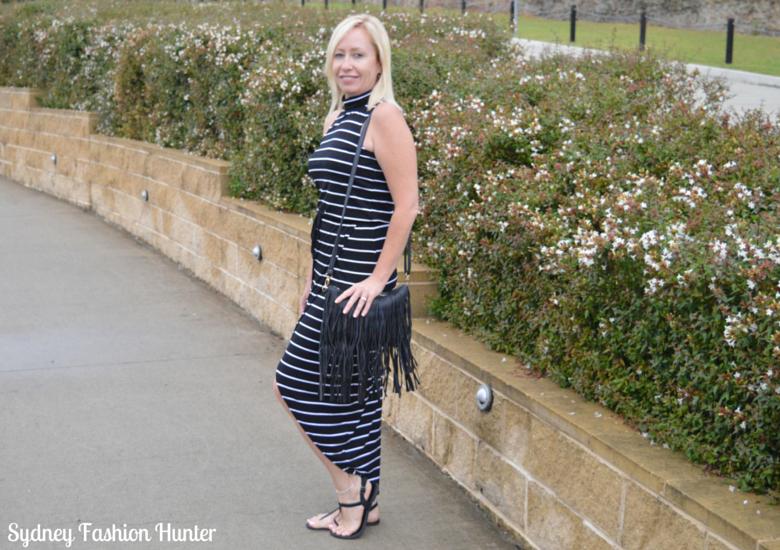 Sydney Fashion Hunter Fringed Bag Side