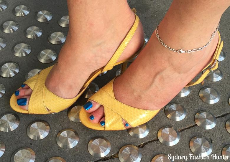 Sydney Fashion HUnter Fresh Fashion Forum #25 - Electric Blue Dress (Shoes)