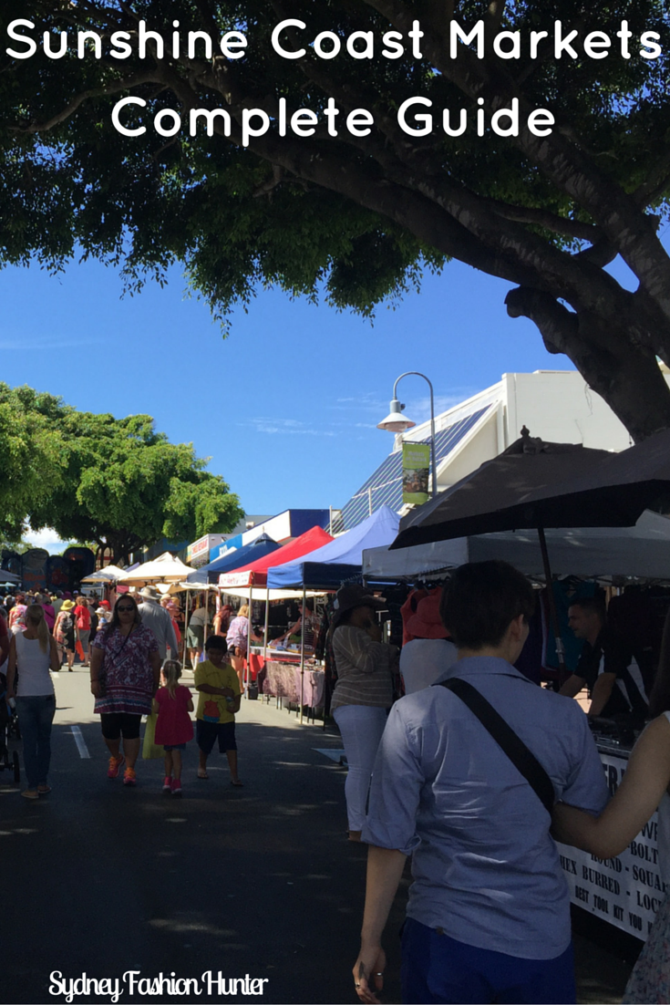 Queensland's Sunshine Coast has some of the best markets in Asutralia including Eumundi. Which one will you visit? http://bit.ly/sfh-markets
