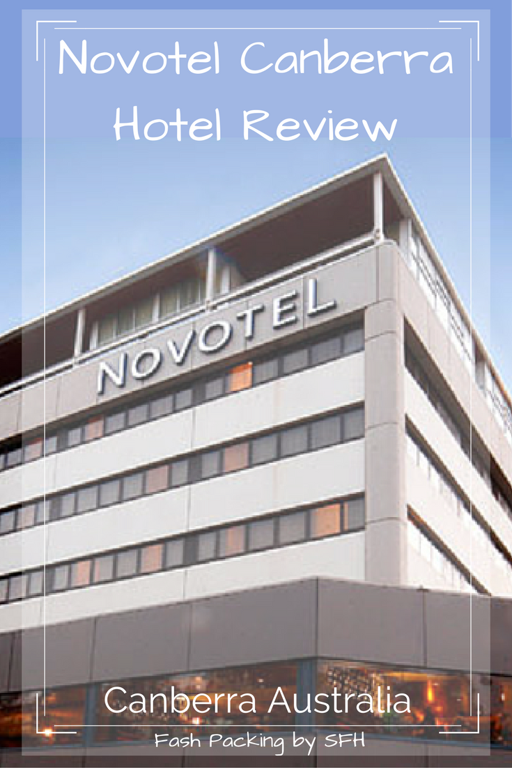 The Novotel Canberra is perfactly positioned in Asutralia's capital. For business or pleasure this is the perfect home away from home. Full review on the blog http://bit.ly/SFH-Novotel-Canberra