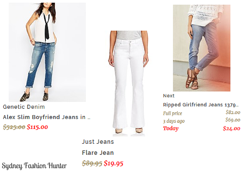 Sydney Fashion Hunter: Fashion Lane Jeans