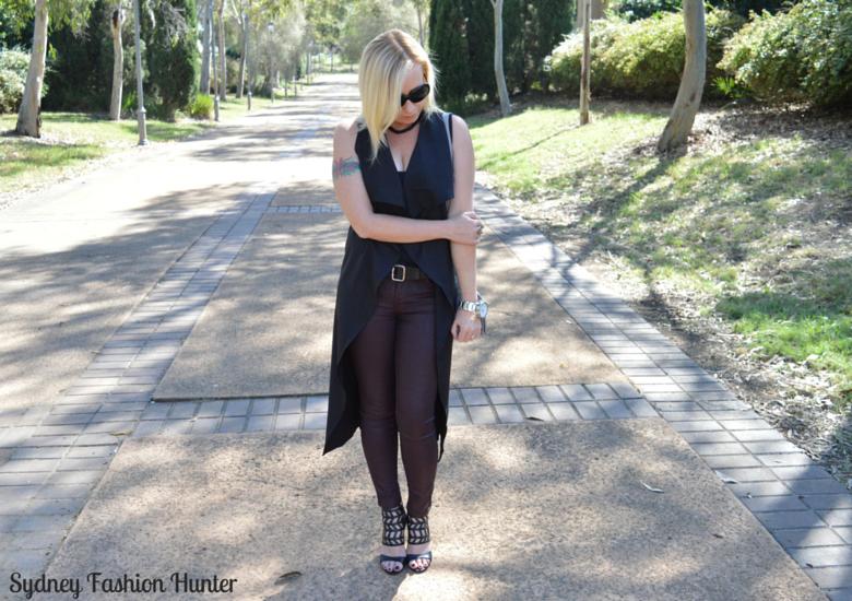 Sydney Fashion Hunter: Fresh Fashion Forum #28 SheIn Sleeveless Trench - Front