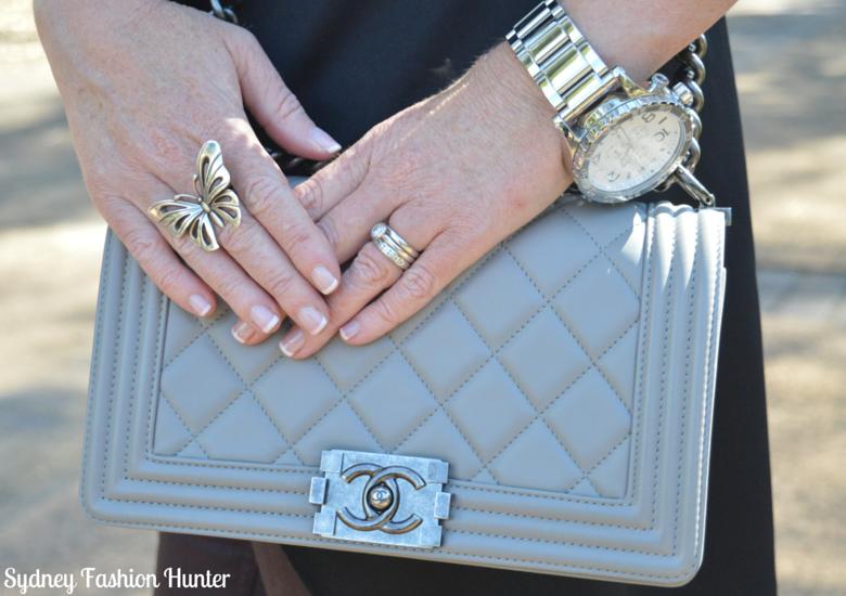 Sydney Fashion Hunter: Fresh Fashion Forum #28 SheIn Sleeveless Trench - Grey Chanel Boy Bag