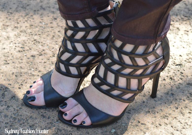 Sydney Fashion Hunter: Fresh Fashion Forum #28 SheIn Sleeveless Trench - Nine West Saidah Sandals