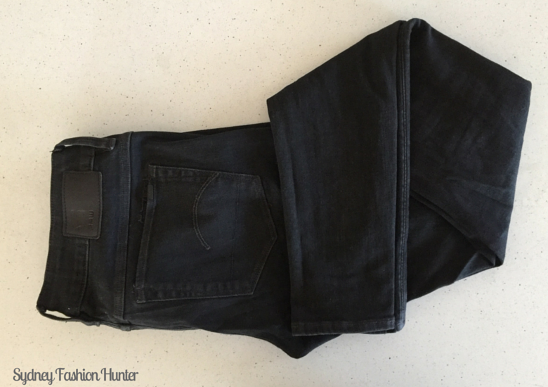 Sydney Fashion Hunter The Monthly Wrap 45 - G Star Jeans