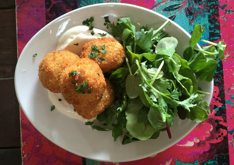 Sydney Fashion Hunter: Sunshine Coast Dining - Bohemian Bungalow Great Balls of Rice