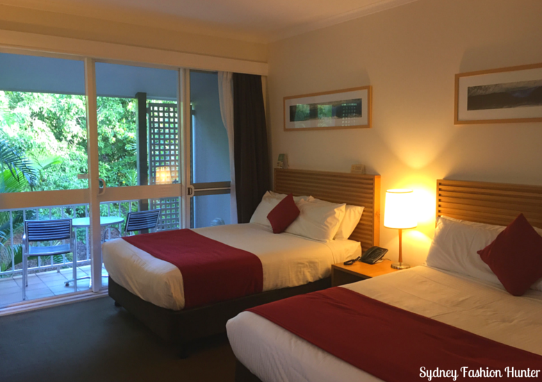 Sydney Fashion Hunter: Novotel Twin Waters Review - Resort Room