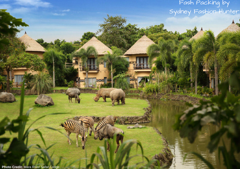 Fash Packing by Sydney Fashion Hunter: 23 Unexpected Things To Do In Bali - Mara River Safari Lodge