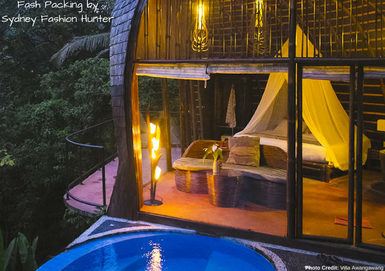 Fash Packing by Sydney Fashion Hunter: 23 Unexpected Things To Do In Bali - Villa Awangawang