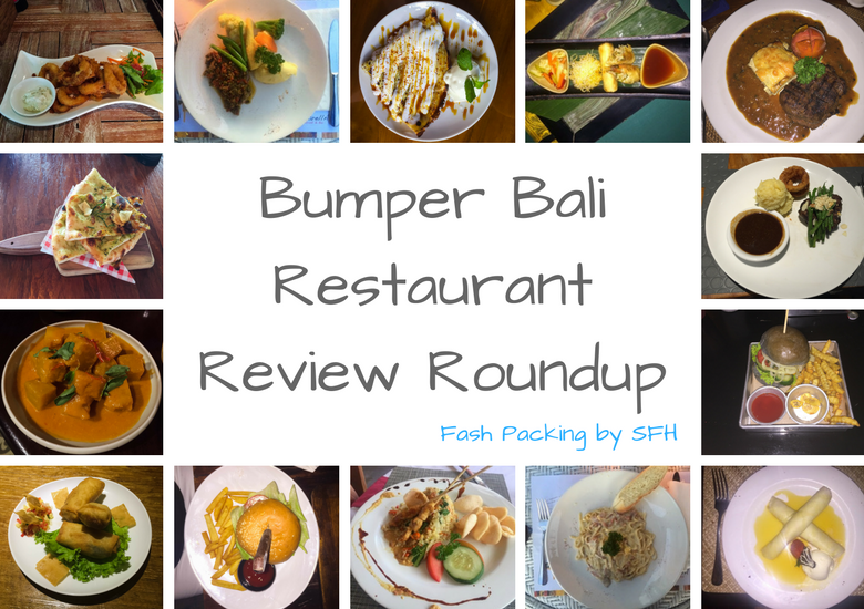 Fash Packing by Sydney Fashion Hunter: Bumper Bali Restaurant Review Roundup