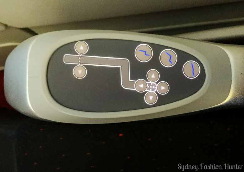 Sydney Fashion Hunter: Air Asia X Business Class Review - Control