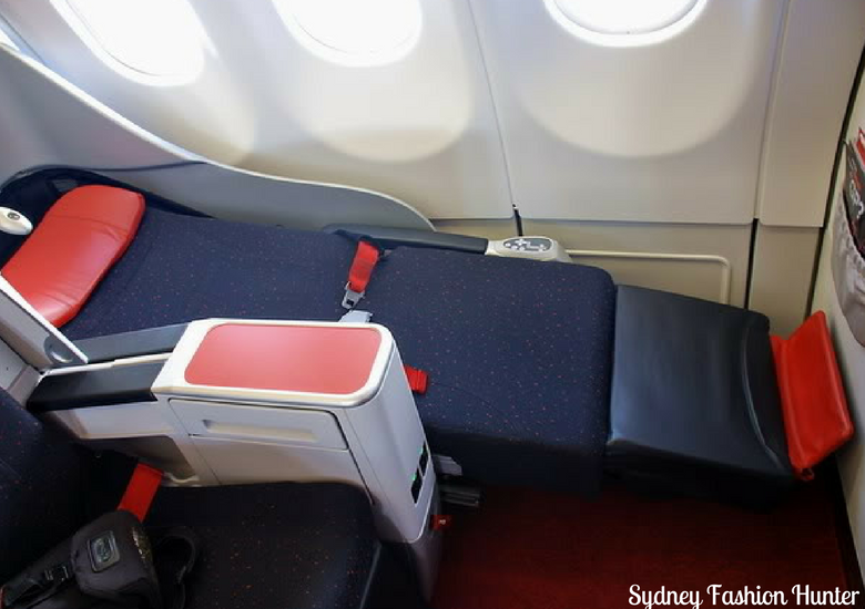 Sydney Fashion Hunter: Air Asia X Business Class Review - Premium Flat Bed Seat Reclined