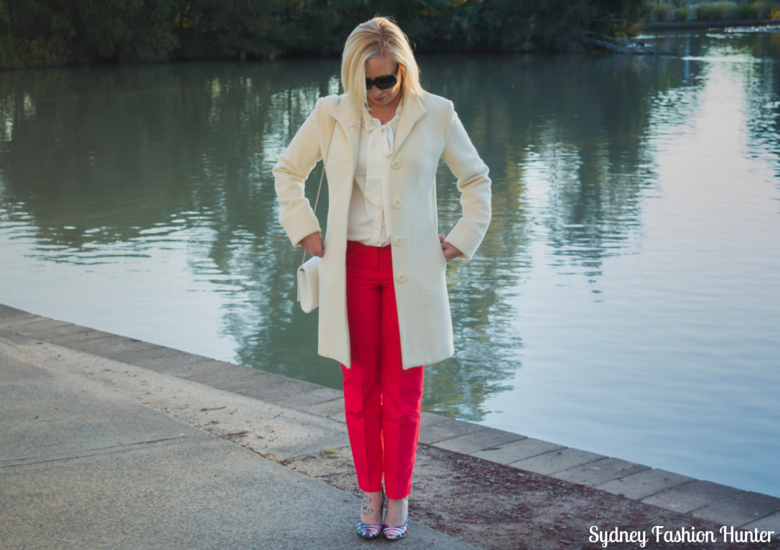 Sydney Fashion Hunter: Fresh Fashion Forum #35 - Coral Pants - Front