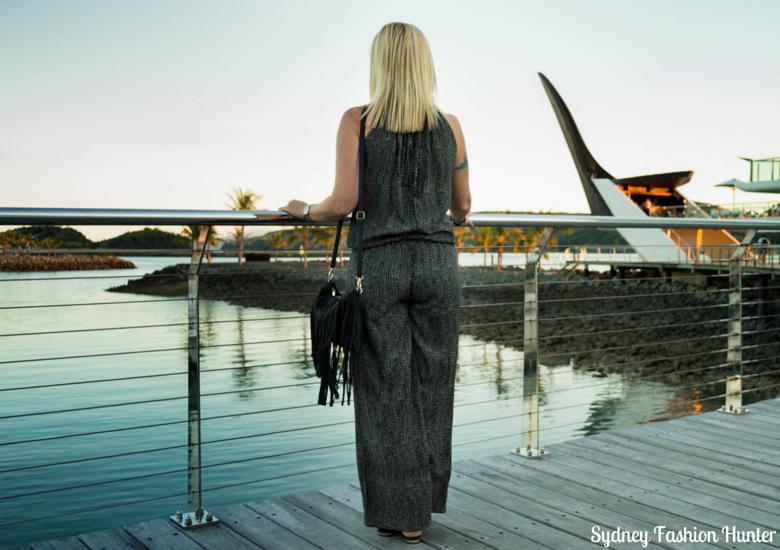 Sydney Fashion Hunter: Fresh Fashion Forum 37 - Casual Jumpsuit Back