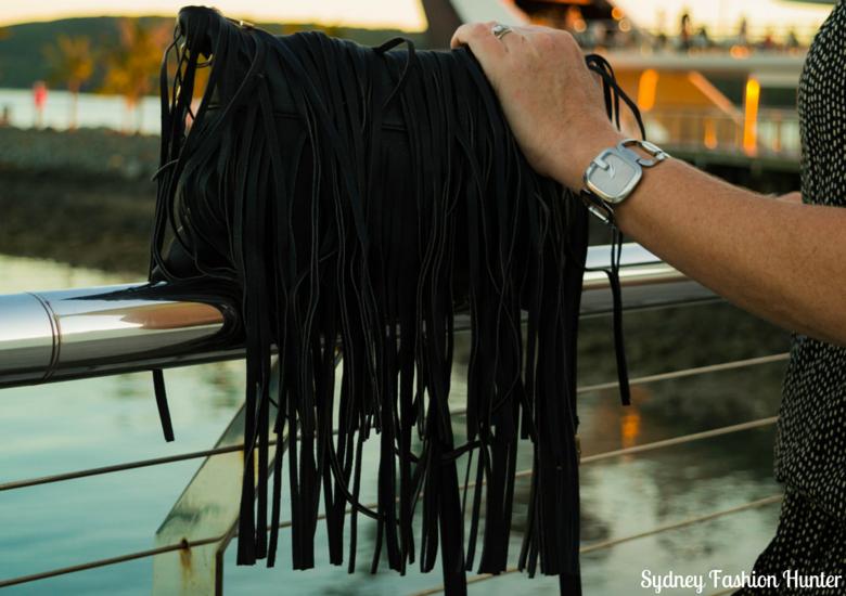 Sydney Fashion Hunter: Fresh Fashion Forum 37 - Casual Jumpsuit Fringed Bag