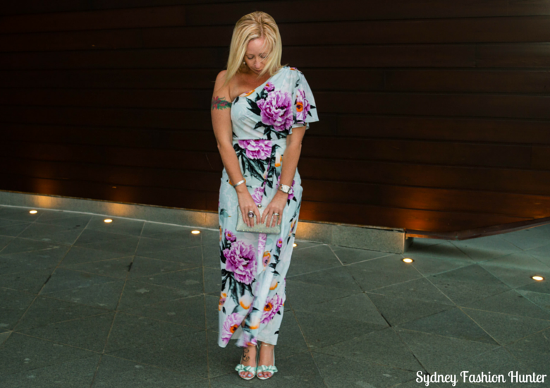 Sydney Fashion Hunter: Fresh Fashion Forum 38 - One Shoulder Floral Dress - Front