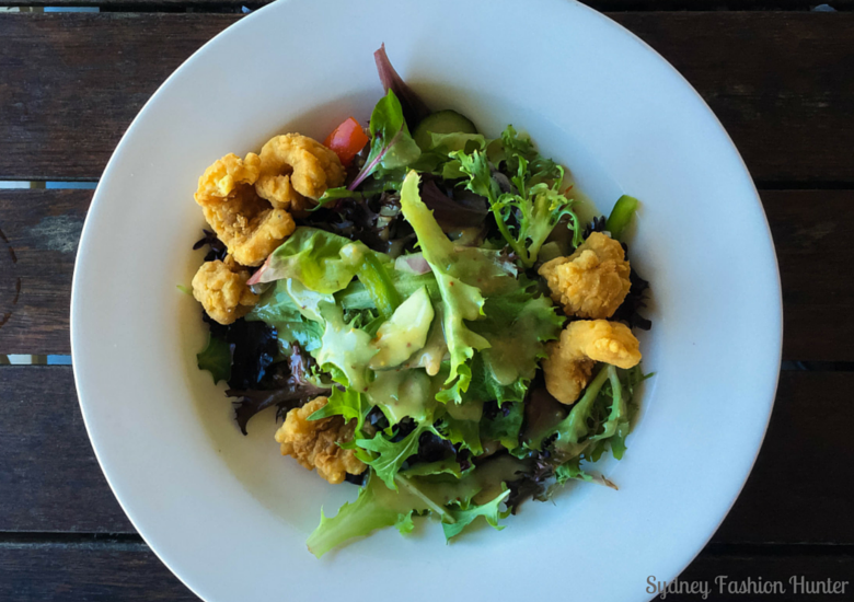 Sydney Fashion Hunter: Hamilton Island Dining - Marina Tavern - Crispy Squid Salad